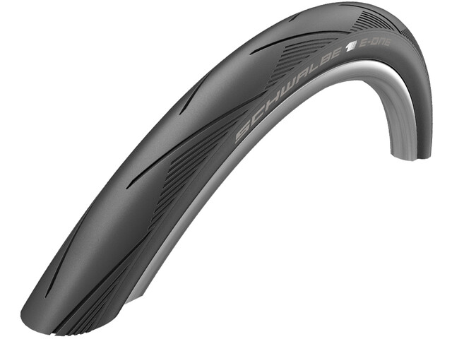 "SCHWALBE E-One Evo - Pneu vélo - V-Guard E-50 Addix Race 28x1.25"" noir"
